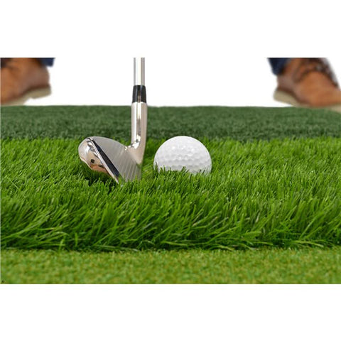 "Foldable 23"" Golf Chipping Net with Tri-Turf Hitting Mat - TheGolfersPick"