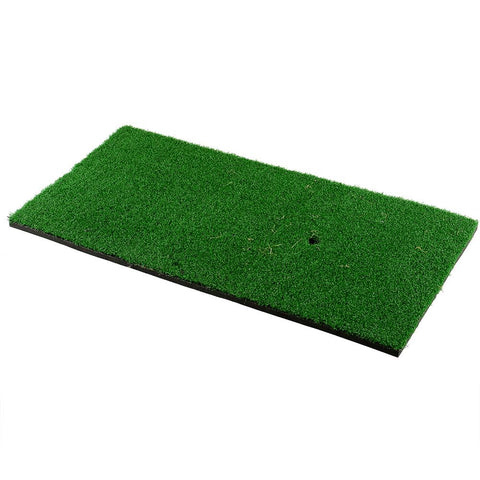 Golf Hitting Practice Mats 2pc Premium Bundle | Fairway + Tri-Turf Mat - THE GOLFER'S PICK