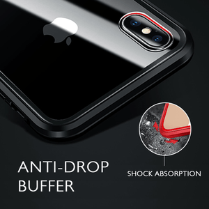 360° Protection Magnet iPhone Case - WalletHolder