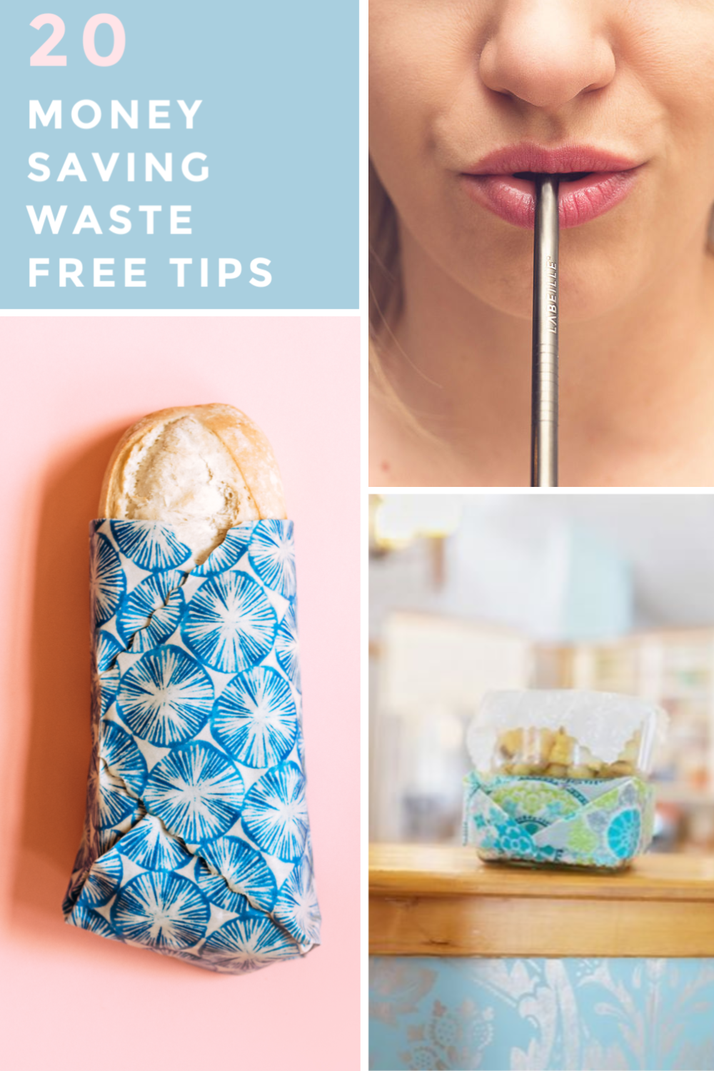 20 MONEY SAVING WASTE FREE TIPS (#1 & #5 WILL BLOW YOUR MIND!)