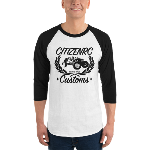 CitizenRC - Customs Raglan Shirt