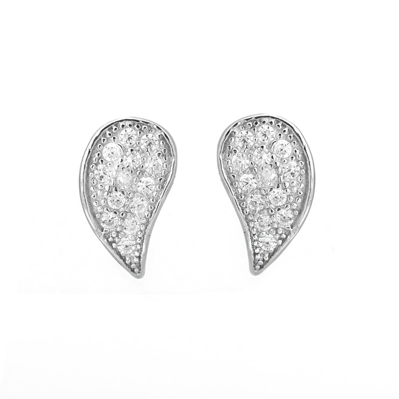Glitzy teardrop earrings