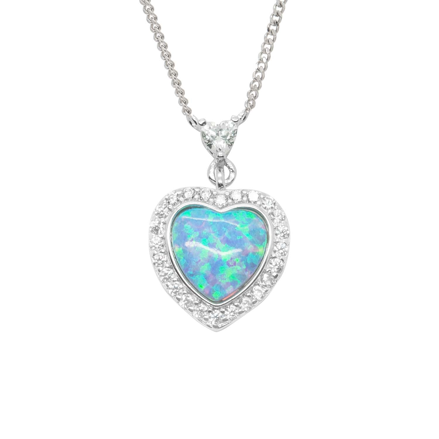 Royal heart pendant
