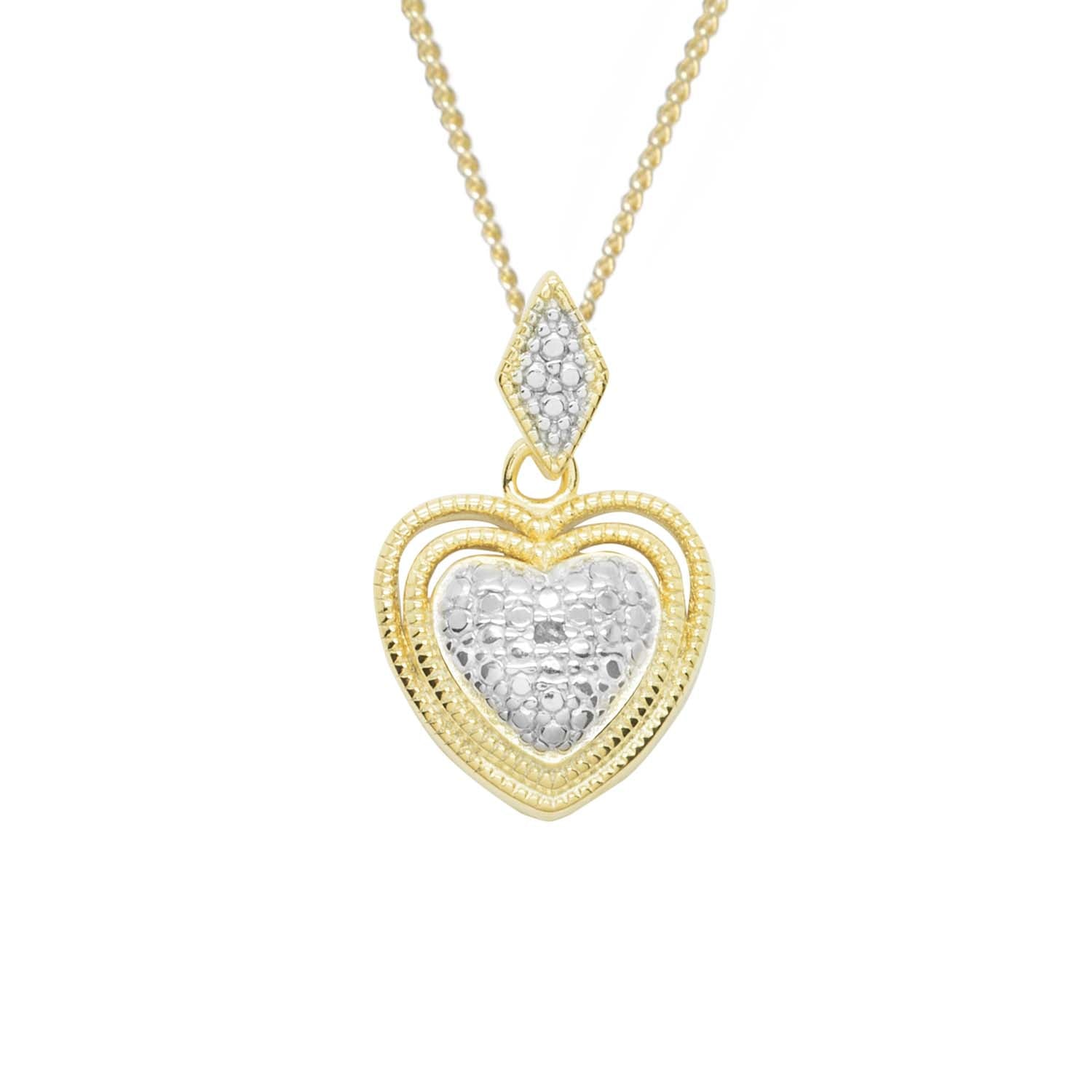 Regal heart pendant