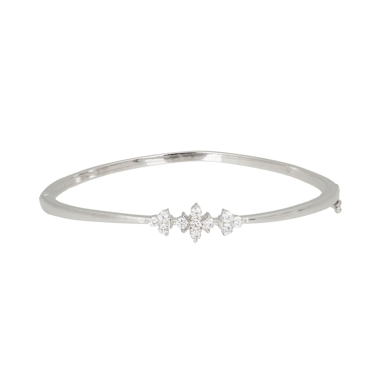 Flower trilogy bangle