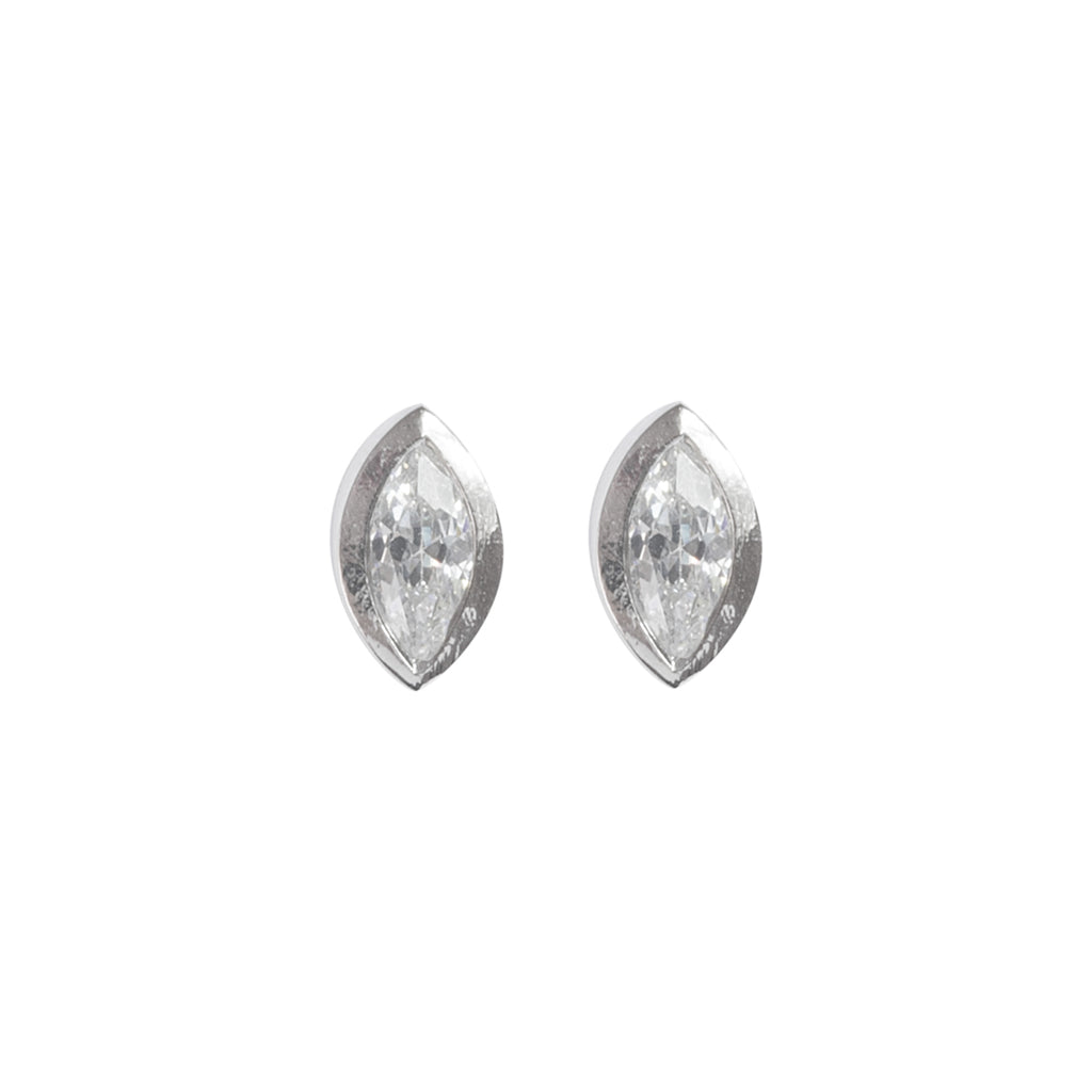 Marquise sparkle earrings