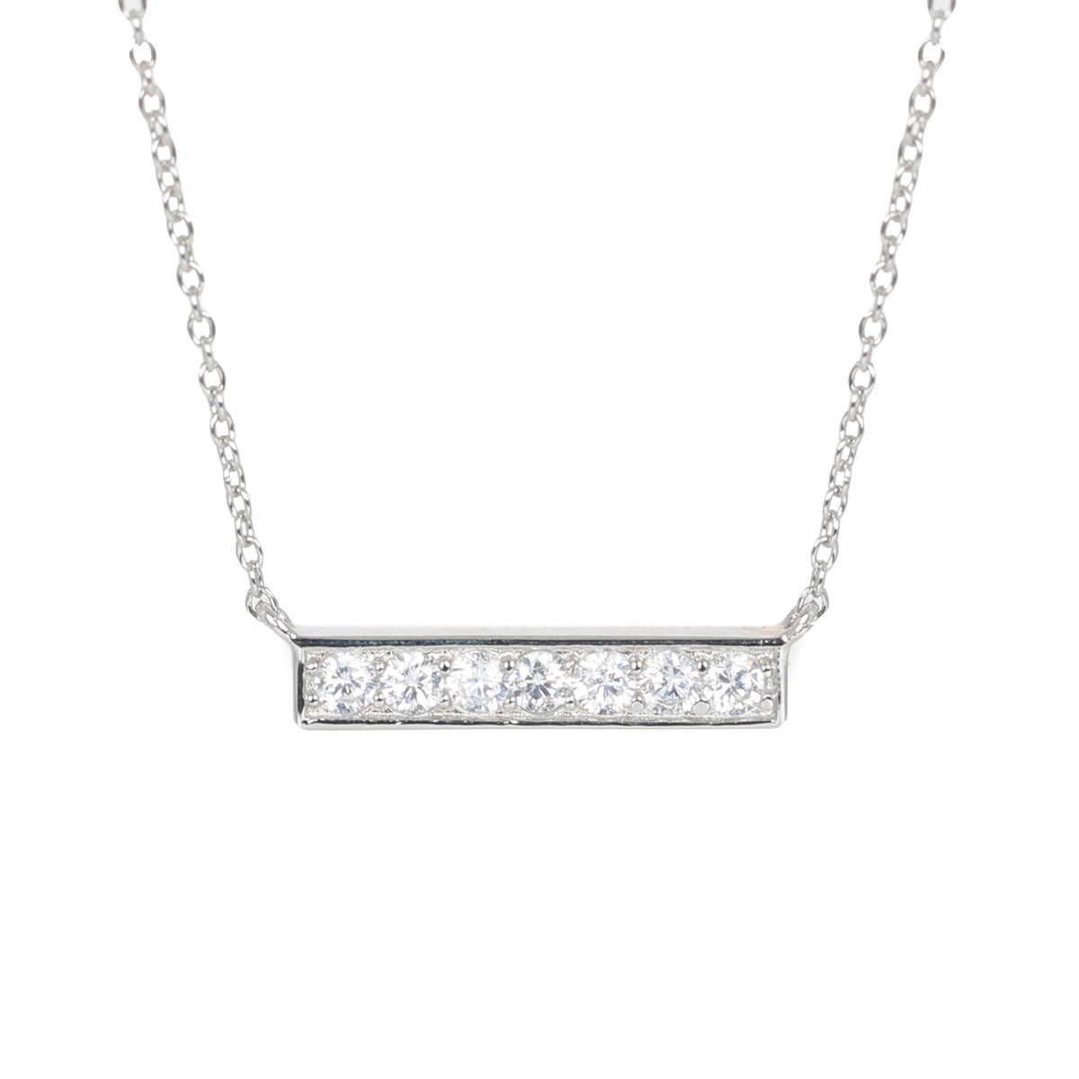 Silver Ingot necklace
