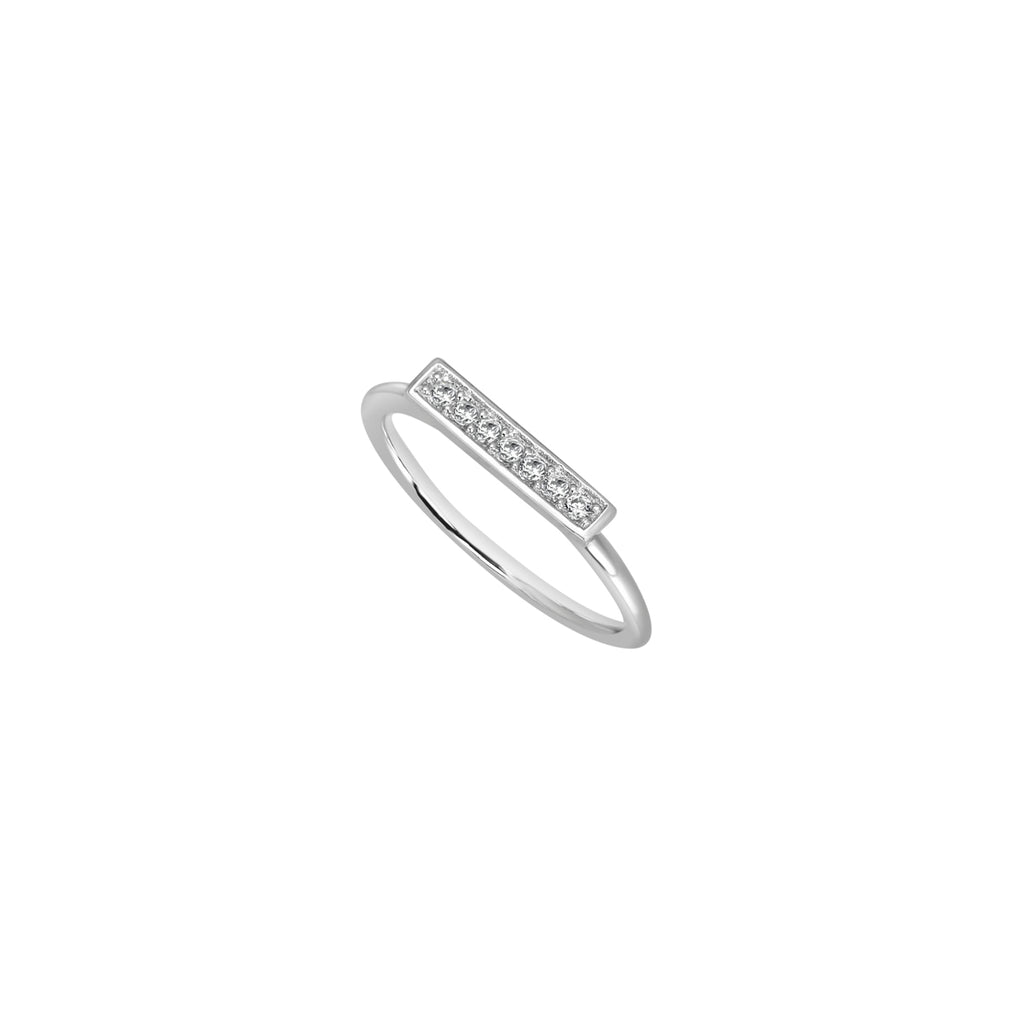 Silver Ingot ring