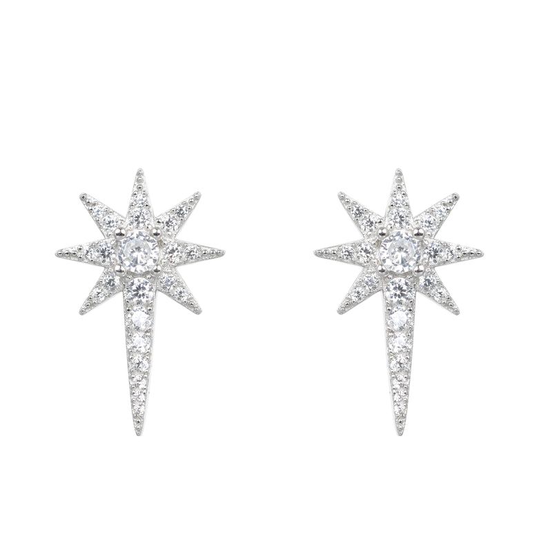Aurora Star Stud Earrings