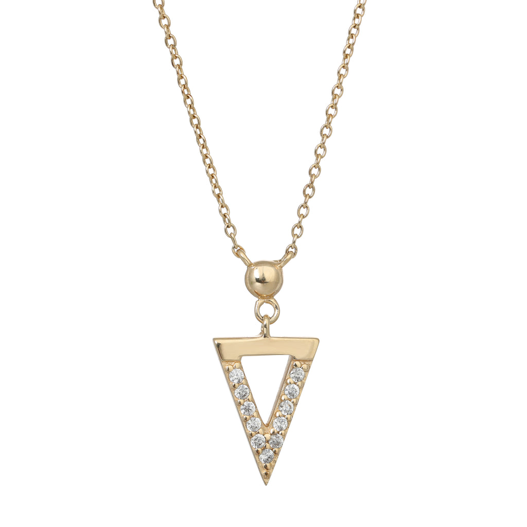 Gold Bermuda necklace