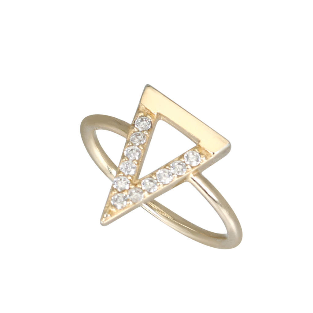 Gold Bermuda ring