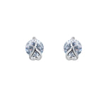 Wrap around Heart Cubic Zirconia Earrings