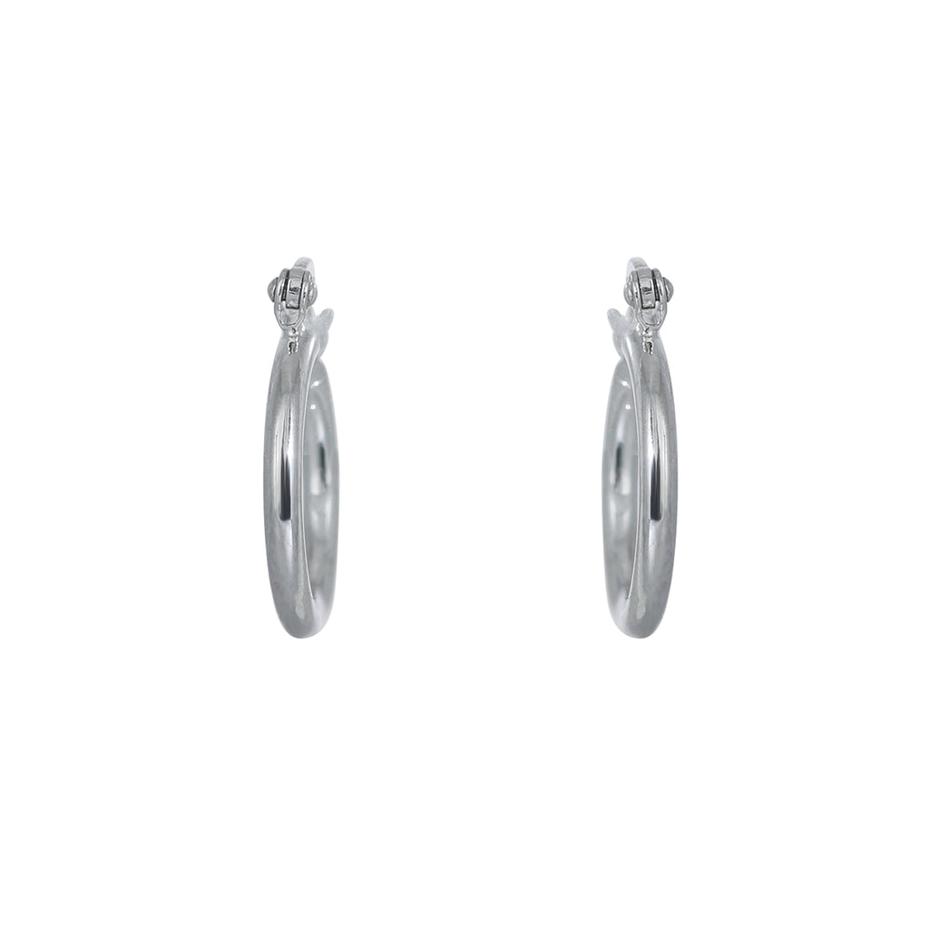 12mm Plain hoop earring