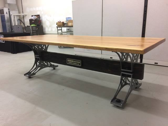 Industrial Trestle Table Plans