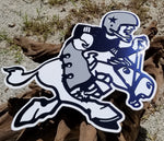 Classic Vintage Dallas Cowboys DXF File Metal Art - SVG/DXF Format