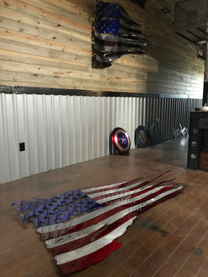 Step by Step How to Make a Tattered Metal Flag Video Training Series
