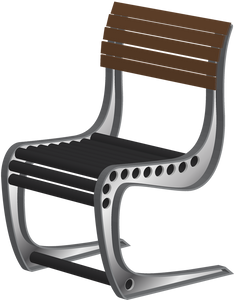 Metal Aero Chair DXF - SVG Vector CAD File for CNC Plasma Laser