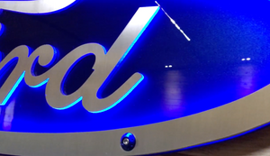 Ford Vector Logo LED Sign CAD File
