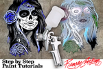 Airbrush Painting Tutorials- Ballin' on a Budget