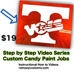 Candy Paint Tutorial Videos for Metal Art