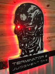 Terminator 2 Judgement Day Skull - DXF Vector File