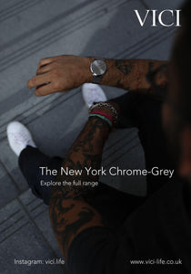 #NYC Chrome-Grey