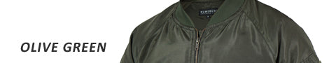 Shield bomber jacket - olive green