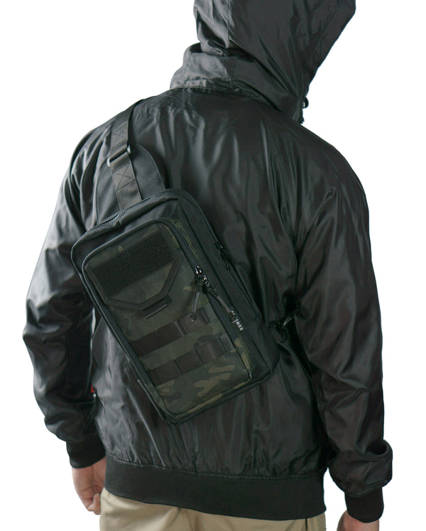 Valiant shoulder bag MK I - Dark camouflage