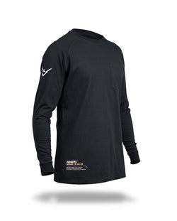 Alpha long sleeves MK-02 - Black