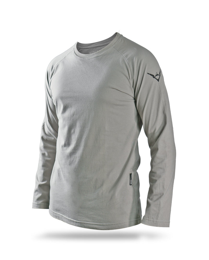 Alpha long sleeves - Light grey