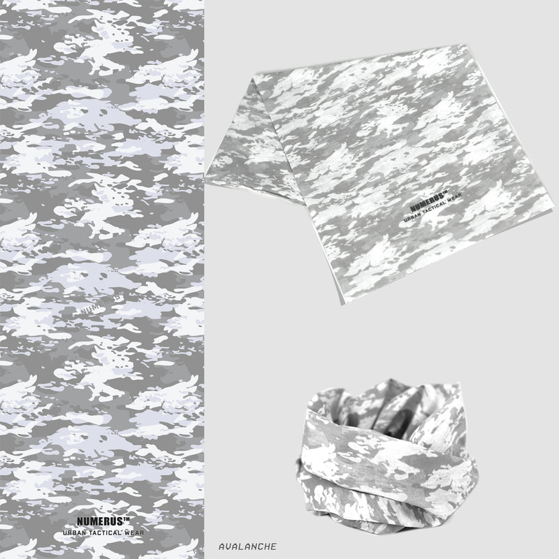 Multi-wrap headwear - Camouflage series