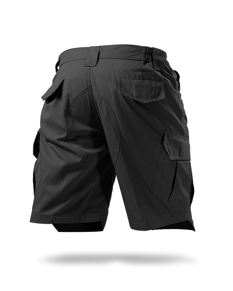 Cargoid short pants - Black