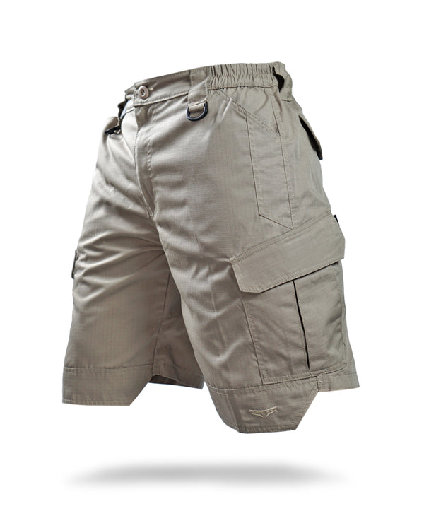 Cargoid short pants - Desert tan