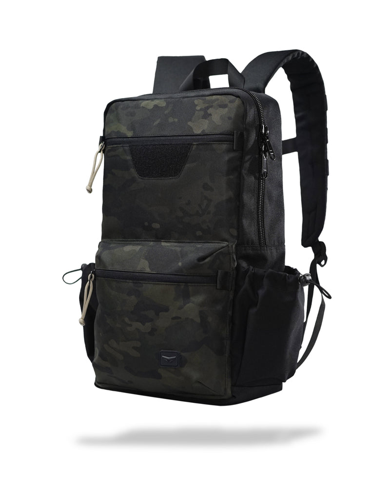 Solid daypack - Black camouflage