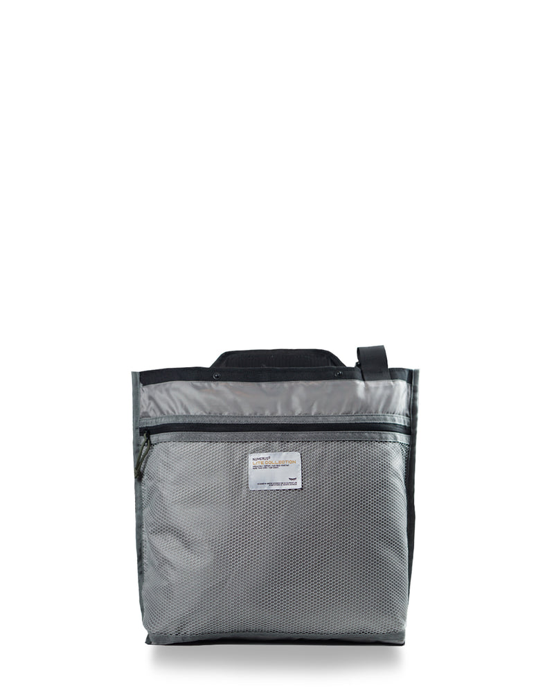 Solid shoulder bag - Black camouflage
