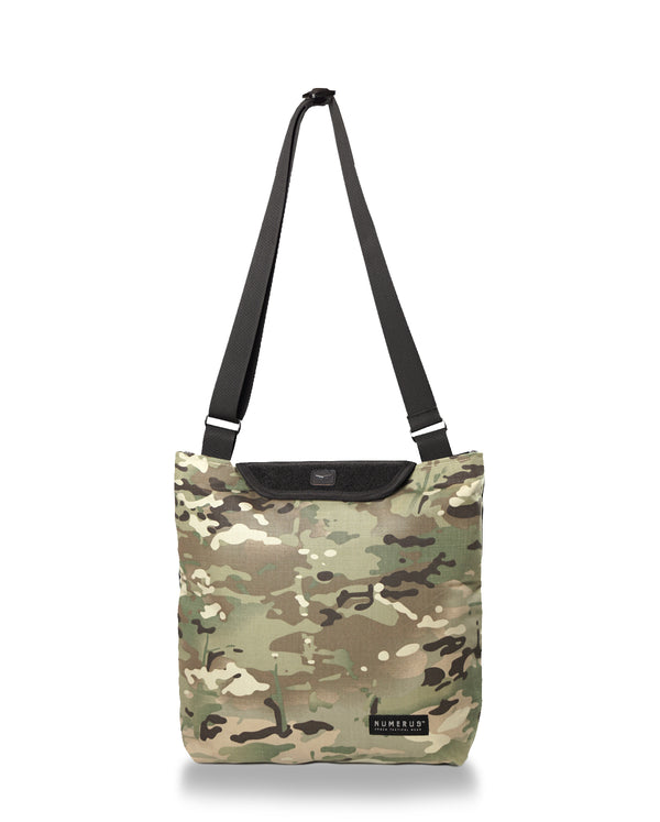 Solid shoulder bag - Multi camouflage