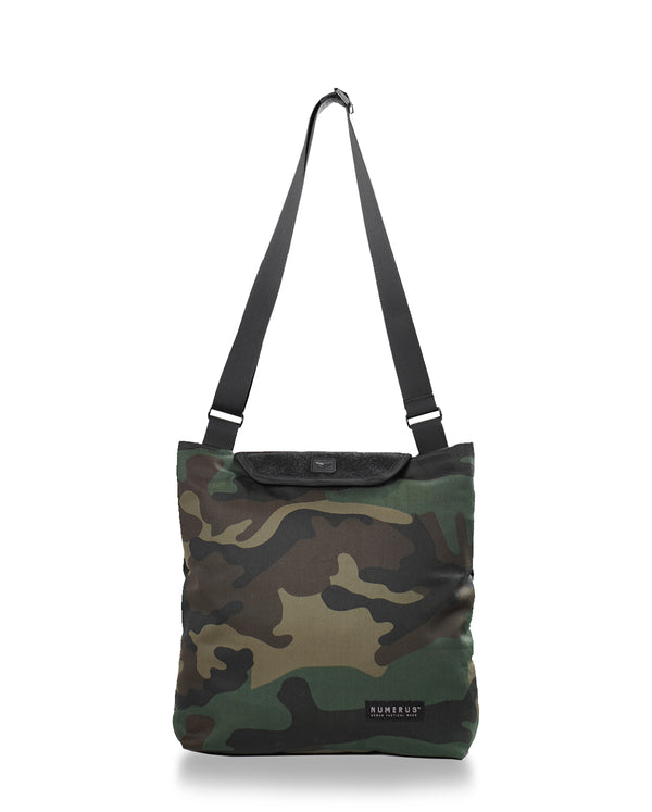 Solid shoulder bag - Woodland