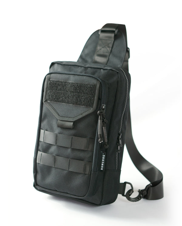 Valiant shoulder bag MK I - Black