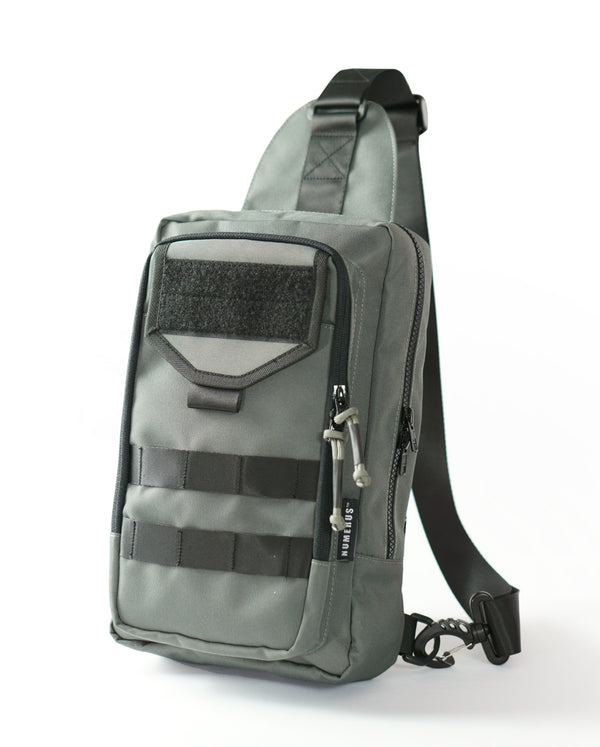 Valiant shoulder bag MK I - Grey