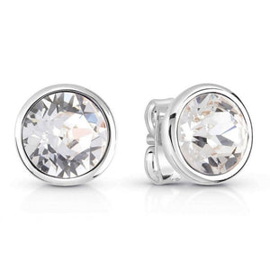Guess Miami Stud Earrings in Silver