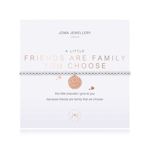 "Joma ""A Little Friends Are Family You Choose"" Bracelet"