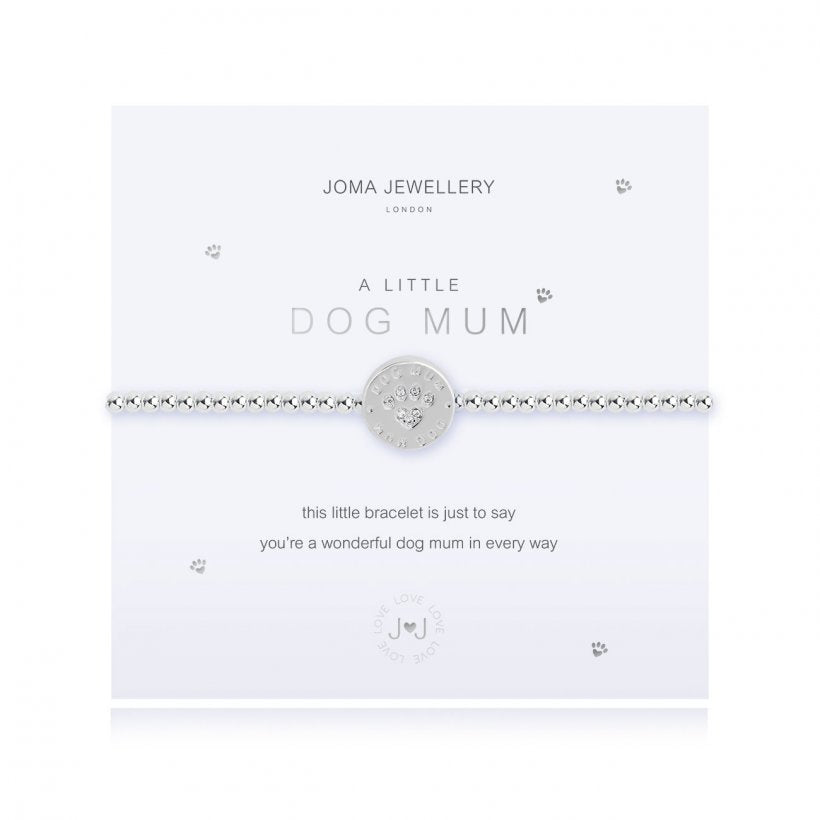 "Joma ""A Little Dog Mum"" Bracelet"