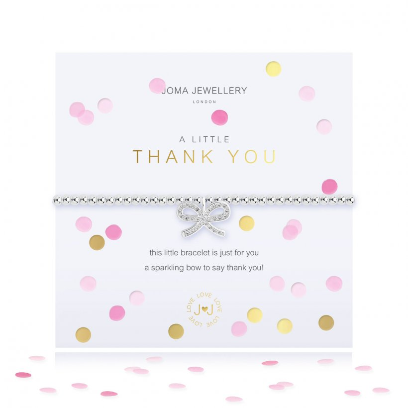 "Joma ""A Little Thank You"" Bracelet"