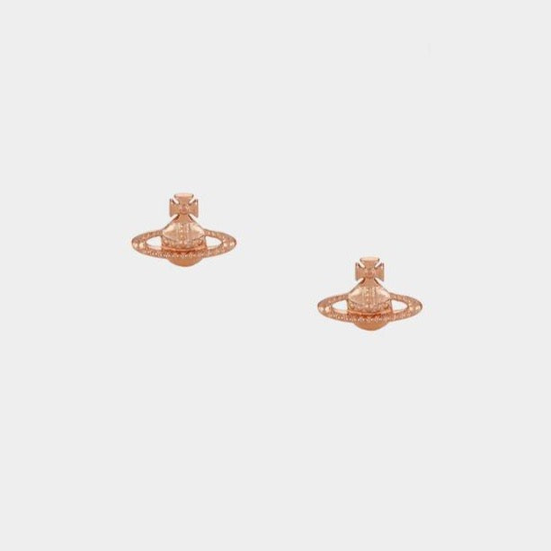 Vivienne Westwood Farah Earrings in Rose