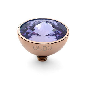 11.5mm Tanzanite Bottone in Rose