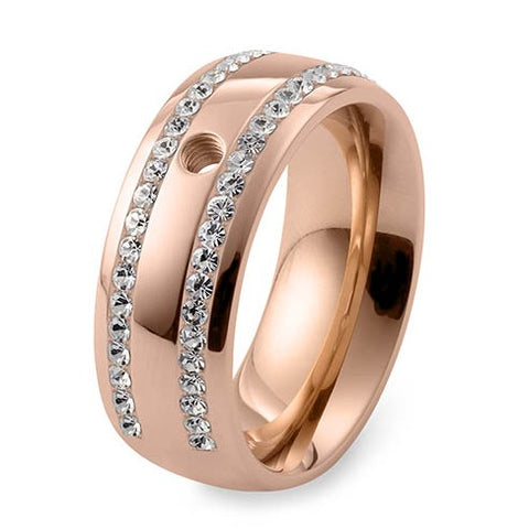 Qudo Lecce Interchangeable Band in Rose