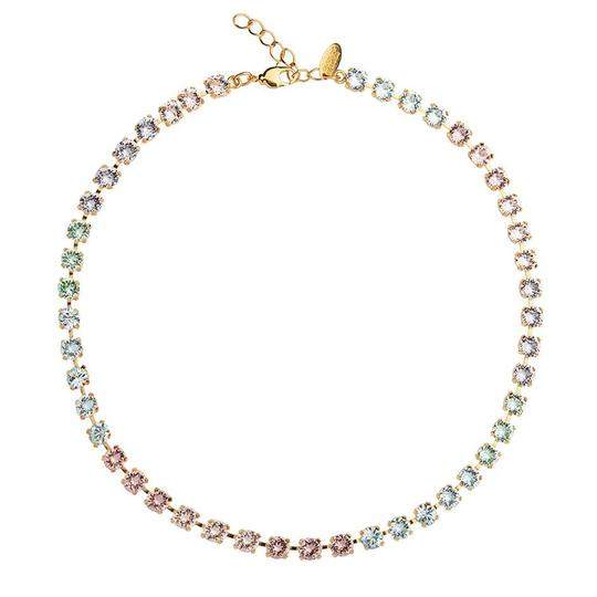 Caroline Svedbom Nicola Pastel Necklace in Gold