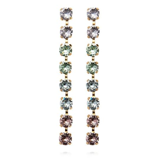 Caroline Svedbom Nicola Pastel Earrings in Gold