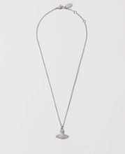Load image into Gallery viewer, Vivienne Westwood Grace Bas Relief Necklace in Rhodium Plating