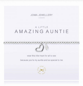"""A Little Amazing Auntie"" Bracelet"